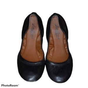 Lucky Brand Leather Emmie Ballet Flats Size 6.5